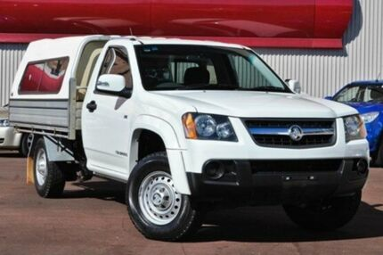 2009 Holden Colorado RC MY09 LX White 4 Speed Automatic Cab Chassis Fremantle Fremantle Area Preview