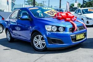 2015 Holden Barina TM MY15 CD Blue 6 Speed Automatic Sedan