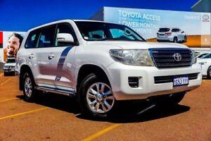 2013 Toyota Landcruiser VDJ200R MY12 GXL White 6 Speed Sports Automatic Wagon