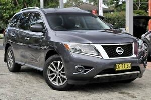 2014 Nissan Pathfinder R52 MY14 ST X-tronic 4WD Grey 1 Speed Constant Variable Wagon Gosford Gosford Area Preview