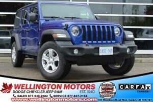 2019 Jeep Wrangler Unlimited Sport / Technology Grp / Cold Weath