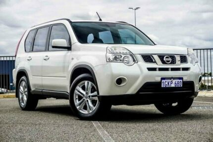 2012 Nissan X-Trail T31 MY11 ST (4x4) White 6 Speed CVT Auto Sequential Wagon Wangara Wanneroo Area Preview
