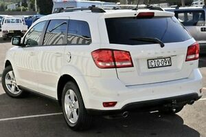 2012 Dodge Journey JC MY12 SXT White 6 Speed Automatic Wagon Gosford Gosford Area Preview