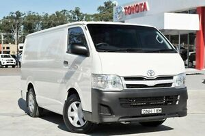 2013 Toyota Hiace KDH201R MY12 LWB White 5 Speed Manual Van Wyoming Gosford Area Preview