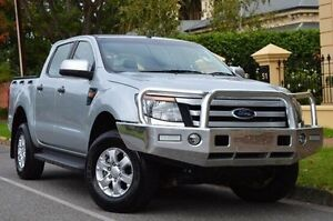 2015 Ford Ranger PX XLS Double Cab Silver 6 Speed Sports Automatic Utility Thorngate Prospect Area Preview