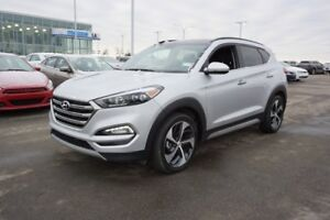 2017 Hyundai Tucson AWD LIMITED 1.6T Accident Free,  Navigation