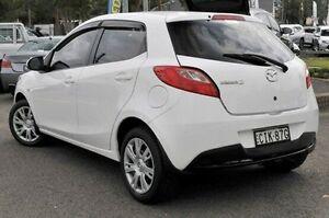 2012 Mazda 2 DE10Y2 MY12 Neo White 5 Speed Manual Hatchback Gosford Gosford Area Preview