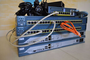 Cisco Complete CCNA & CCNP Security home lab kit w / ASA5505