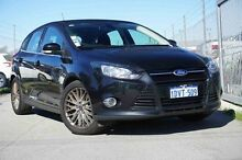 2012 Ford Focus LW Sport PwrShift Black 6 Speed Sports Automatic Dual Clutch Hatchback Glendalough Stirling Area Preview