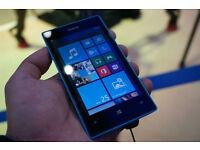 Nokia Lumia 520 in Blue - O2 / Tesco Mobile / Giff Gaff