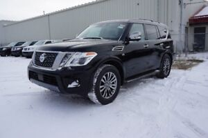 2019 Nissan Armada AWD PLATINUM 20 DARK CHROME WHEELS, WIPER DE-