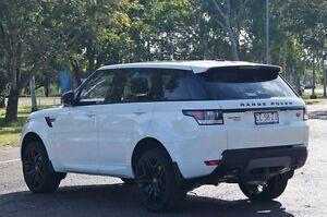 2016 Land Rover Range Rover Sport L494 16.5MY SDV6 CommandShift HSE Fuji White 8 Speed Winnellie Darwin City Preview