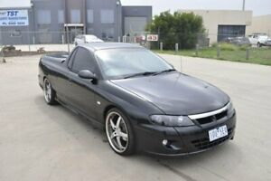 2001 Holden Commodore VU SS Black 4 Speed Automatic Utility