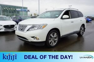 2016 Nissan Pathfinder AWD PLATINUM Navigation (GPS),  Rear DVD,