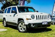 2013 Jeep Patriot MK MY14 Limited White 6 Speed Sports Automatic Wagon Wangara Wanneroo Area Preview