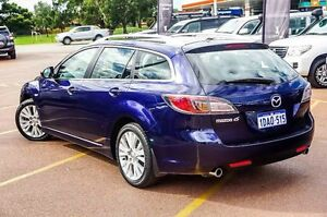 2009 Mazda 6 GH1051 MY09 Classic Blue 5 Speed Sports Automatic Wagon Westminster Stirling Area Preview