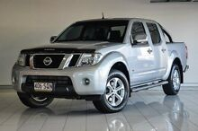 2012 Nissan Navara D40 S5 MY12 ST-X 550 Silver 7 Speed Sports Automatic Utility Southport Gold Coast City Preview