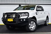 2016 Ford Ranger PX MkII XLT Double Cab White 6 Speed Sports Automatic Utility Canning Vale Canning Area Preview