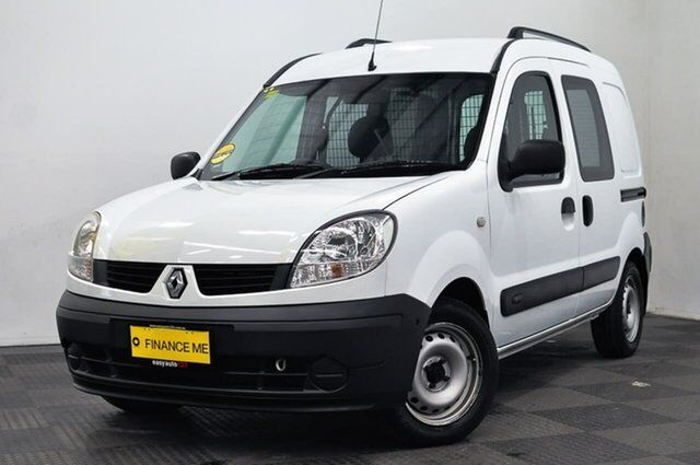 c69249d912 2009 Renault Kangoo F76 MY07 White 4 Speed Automatic Van