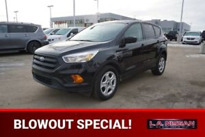 2017 Ford Escape S Accident Free,  Back-up Cam,  Bluetooth,  A/C