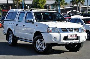 2011 Nissan Navara D22 S5 ST-R White 5 Speed Manual Utility Robina Gold Coast South Preview