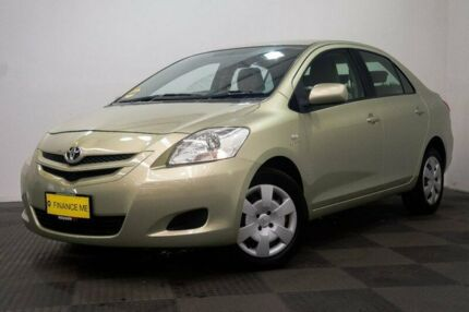 2007 Toyota Yaris NCP93R YRS Gold 4 Speed Automatic Sedan