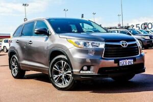 2017 Toyota Kluger GSU55R GXL AWD Grey 8 Speed Sports Automatic Wagon Balcatta Stirling Area Preview