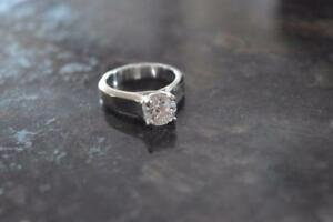 1.11 Carat Solitaire Engagement Ring