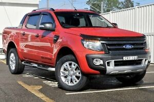 2014 Ford Ranger PX Wildtrak Double Cab Orange 6 Speed Sports Automatic Utility Gosford Gosford Area Preview