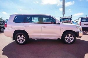 2011 Toyota Landcruiser VDJ200R MY10 Altitude White 6 Speed Sports Automatic Wagon Westminster Stirling Area Preview