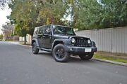 2015 Jeep Wrangler JK MY2015 Unlimited Sport Black 5 Speed Automatic Softtop Medindie Walkerville Area Preview