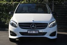 2015 Mercedes-Benz B200  White Sports Automatic Dual Clutch Hatchback Doncaster Manningham Area Preview