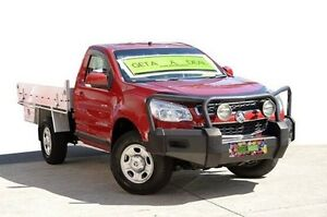 2012 Holden Colorado RG MY13 LX Red 5 Speed Manual Cab Chassis Coolangatta Gold Coast South Preview