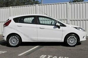 2011 Ford Fiesta WT LX PwrShift White 6 Speed Sports Automatic Dual Clutch Hatchback Gosford Gosford Area Preview