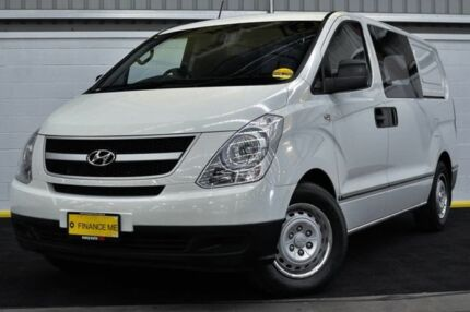 2011 Hyundai iLOAD TQ-V MY11 White 5 Speed Manual Van Canning Vale Canning Area Preview