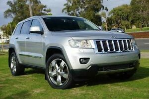 2011 Jeep Grand Cherokee WK MY2011 Limited Silver 5 Speed Sports Automatic Wagon Wangara Wanneroo Area Preview