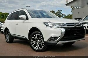 2015 Mitsubishi Outlander ZK MY16 LS 4WD White 6 Speed Constant Variable Wagon Launceston Launceston Area Preview