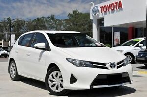 2014 Toyota Corolla ZRE182R Ascent White 7 Speed CVT Auto Sequential Hatchback Wyoming Gosford Area Preview