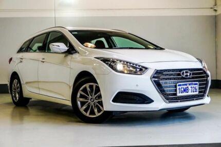 2017 Hyundai i40 VF4 Series II Active Tourer White 6 Speed Sports Automatic Wagon Wangara Wanneroo Area Preview