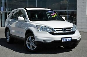 2011 Honda CR-V RE MY2010 Luxury 4WD White 5 Speed Automatic Wagon Morley Bayswater Area Preview
