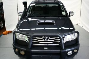 2012 Toyota Hilux KUN26R MY12 SR5 Double Cab Grey 4 Speed Automatic Utility Maryville Newcastle Area Preview