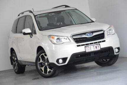 2014 Subaru Forester S4 MY14 2.5i-S Lineartronic AWD White 6 Speed Constant Variable Wagon Kedron Brisbane North East Preview