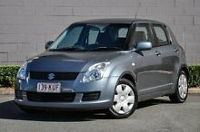2008 Suzuki Swift RS415 Grey 5 Speed Manual Hatchback Main Beach Gold Coast City Preview