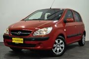 2010 Hyundai Getz TB MY09 S Red 4 Speed Automatic Hatchback Edgewater Joondalup Area Preview