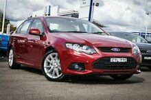 2013 Ford Falcon FG MkII XR6 Red 6 Speed Auto Seq Sportshift Sedan Parramatta Parramatta Area Preview