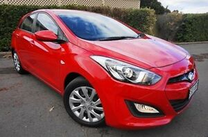 2013 Hyundai i30 GD Active Red 6 Speed Sports Automatic Hatchback Glenelg East Holdfast Bay Preview