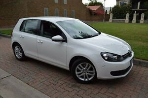 2010 Volkswagen Golf VI MY10 118TSI DSG Comfortline White 7 Speed Sports Automatic Dual Clutch Stepney Norwood Area Preview