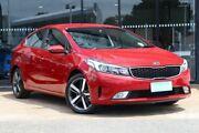 2017 Kia Cerato YD MY18 Sport+ Red 6 Speed Sports Automatic Sedan Parramatta Parramatta Area Preview