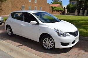 2013 Nissan Pulsar C12 ST White 1 Speed Constant Variable Hatchback Stepney Norwood Area Preview