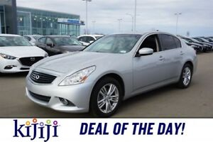 2013 INFINITI G37 Sedan AWD X Rear DVD,  Leather,  Heated Seats,